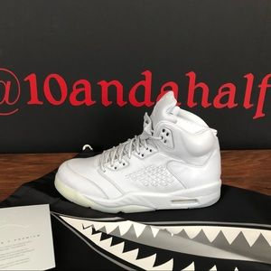Air Jordan 5 Retro Premium'Pure Platinum'